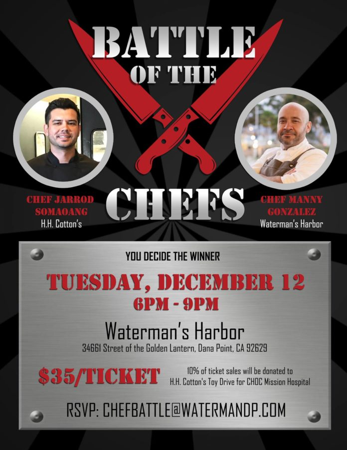 Battle Of The Chefs In December