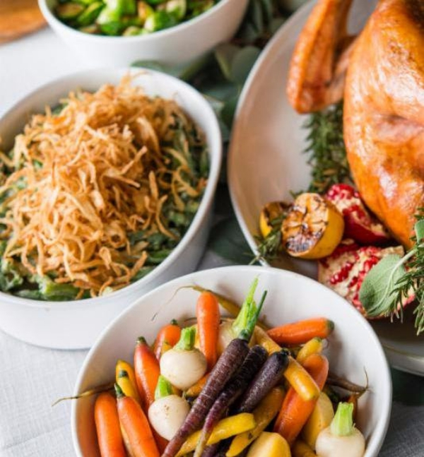 Sapphire Holiday Meals