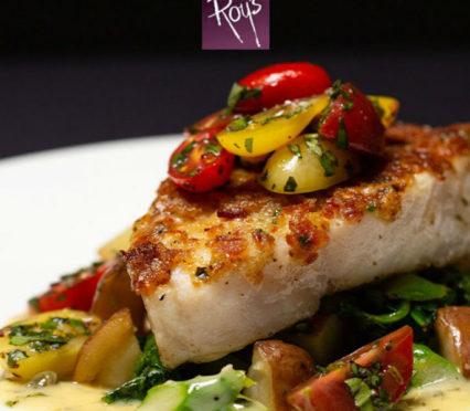 Fresh Caught Chilean Sea Bass Now For A Limited Time @ Roy's Hawaiian Fusion Cuisine - Anaheim