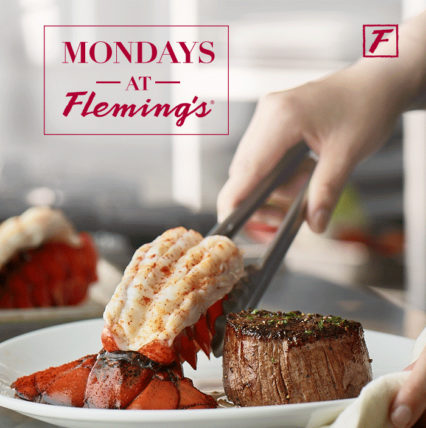Filet and Lobster Every Monday @ Fleming's Prime Steakhouse & Wine Bar