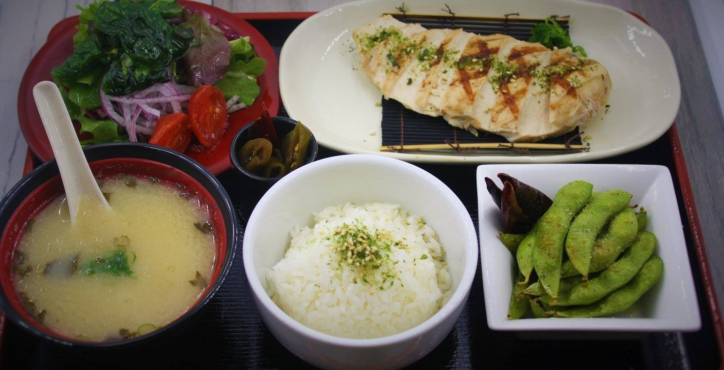 Sea Salt Japanese Lunch Set