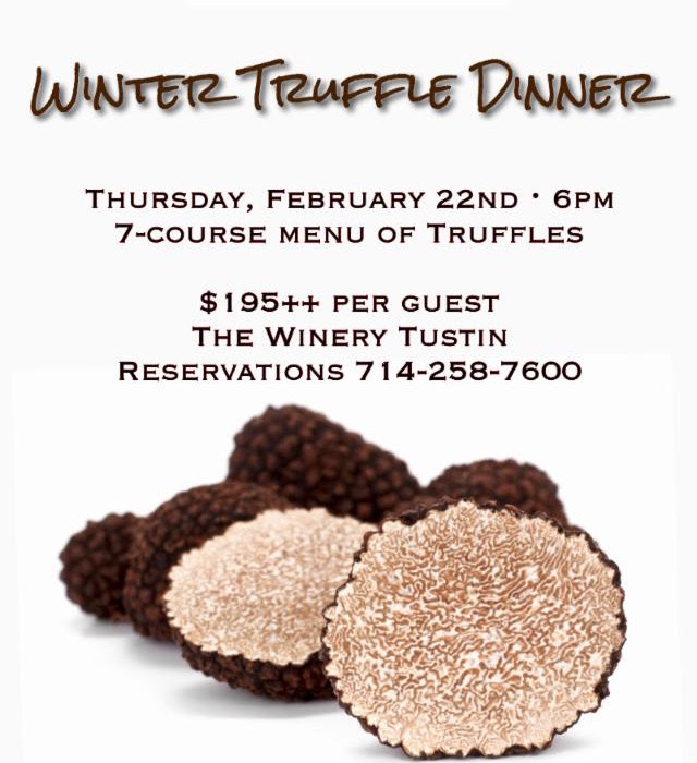 The Winery Truffle Dinner