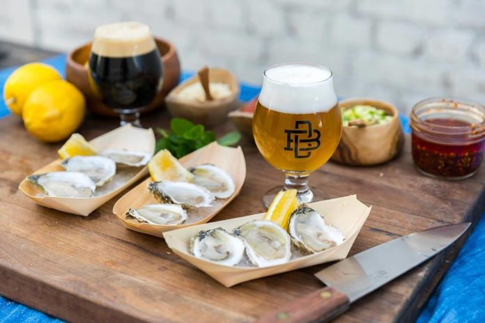 Boomtown Brewery Oyster Pairing