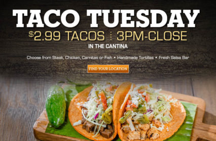 Taco Tuesday @ El Torito - Irvine