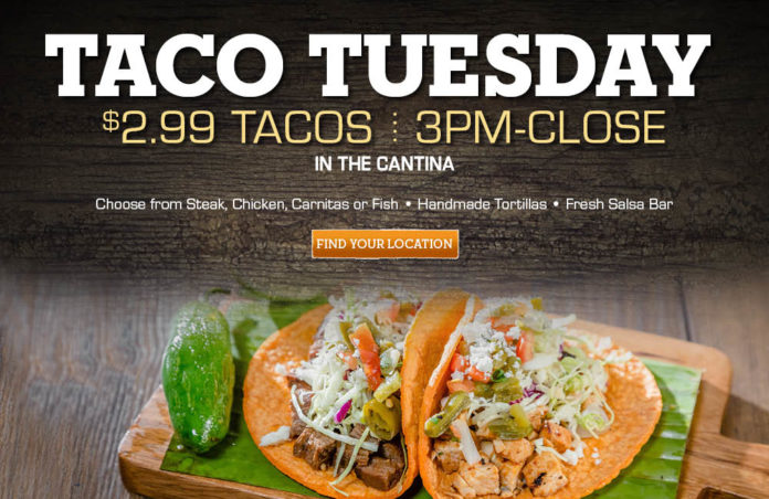 El Torito Taco Tuesday