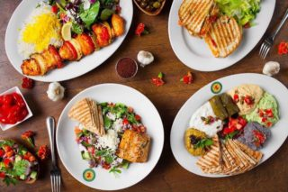 Panini Kabob Grill Assortment
