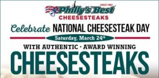 Philly's Best Nat Cheesesteak Day