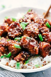 Recipe Slow Cooker General Tsos Chicken