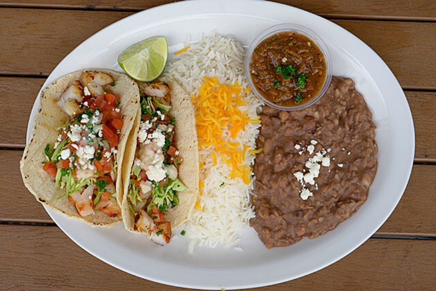 Off The Boat Fish Tacos
