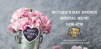 Haven Gastropub Mom Day