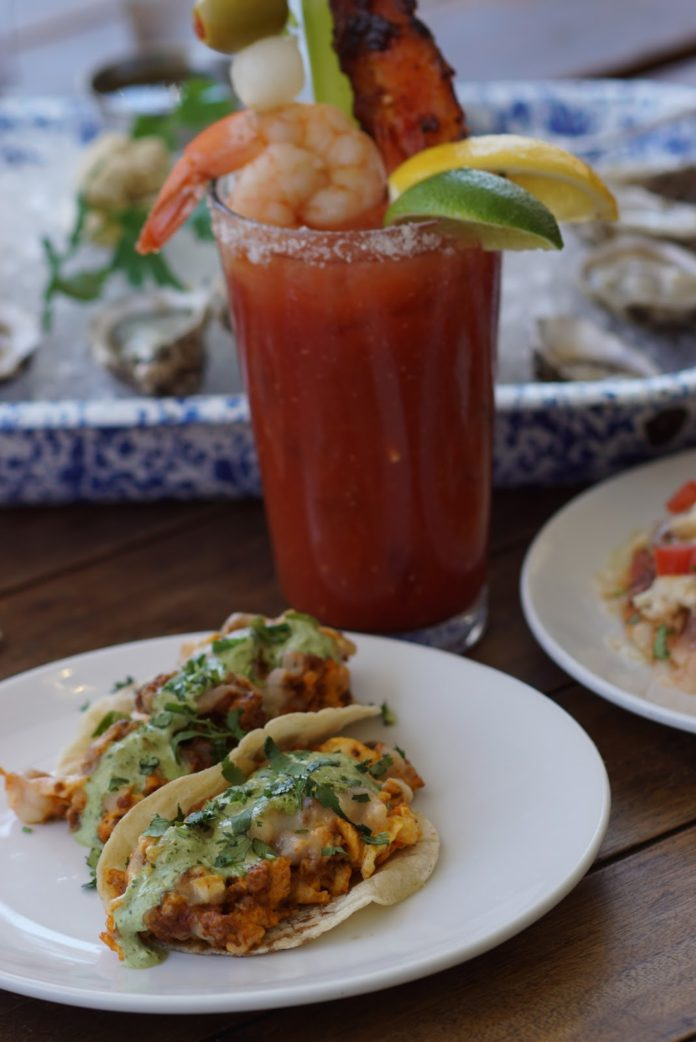 Ways & Means Chorizo And Egg Tacos