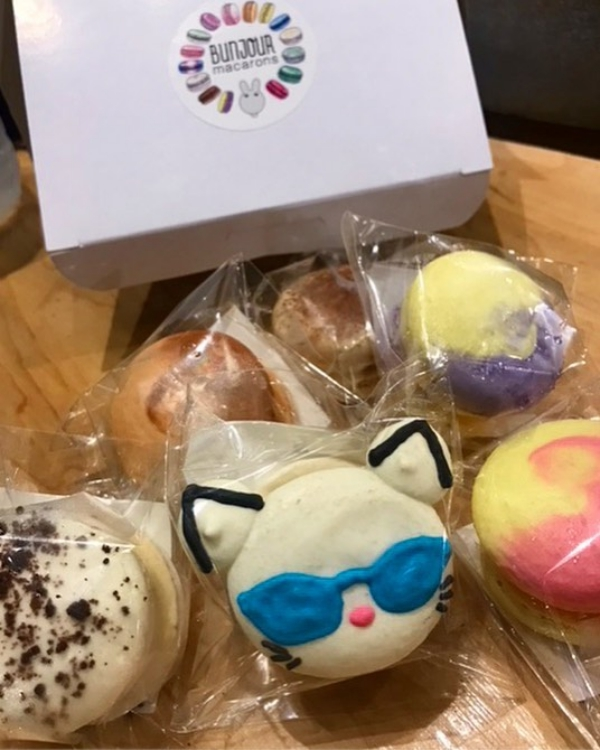 Catmosphere Macarons