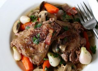 Coq Au Vin From Alisal Ranch