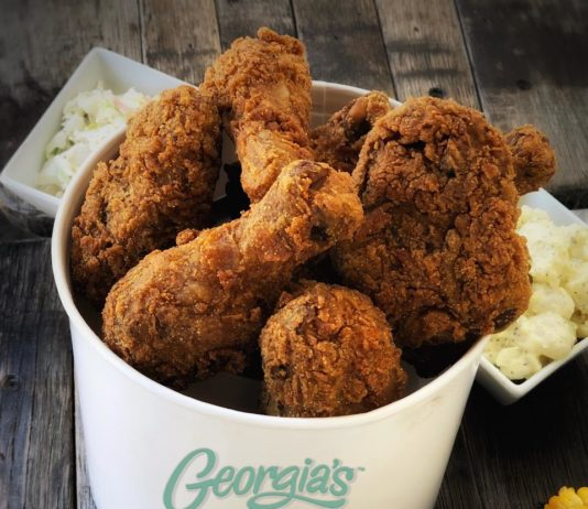 Georgia's Restaurant Chicken Bucket