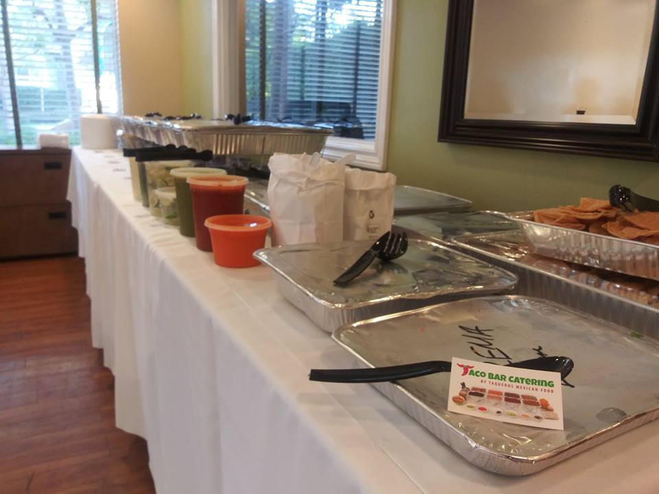 Taco Bar Catering Event