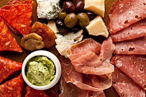 Sicilian Street Food Meat And Cheese