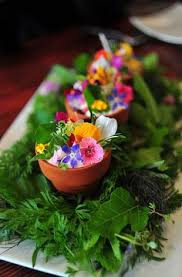 Cafe Jardin Edible Flowers