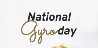Luna Grill Mational Gyro Day