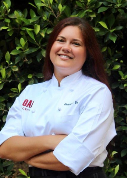 Oak Grill Executive Chef Brittany Valles