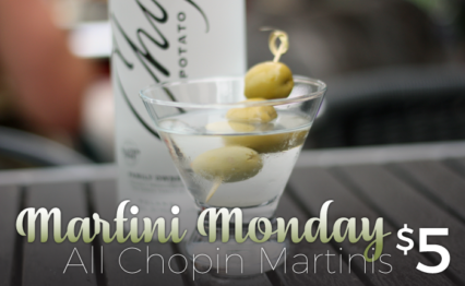 Chopin Martini Mondays @ Mama's on 39 Restaurant - Huntington Beach | Huntington Beach | California | United States
