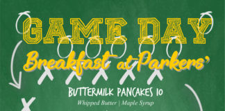Parkers Lighthouse Game Day Breakfast