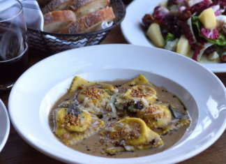 Brunos Italian Kitchen Winter Squash Ravioli