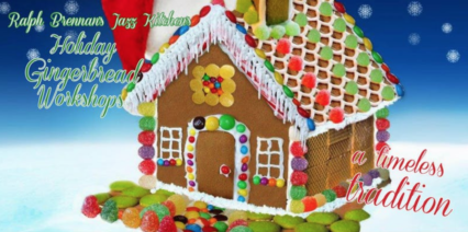 Holiday Gingerbread Workshops with Buffet Brunch @ Ralph Brennan's Jazz Kitchen - Anaheim