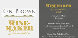 Colony Ken Brown Winemaker Dinner