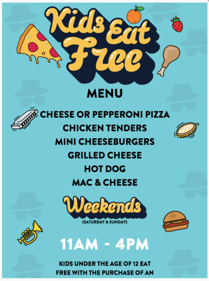 Kids Eat Free Saturdays @ House of Blues - Anaheim