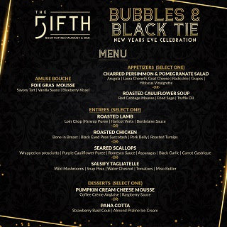 Bubbles & Black Tie New Year's Eve Celebration @ Fifth (The) - Anaheim | Anaheim | California | United States