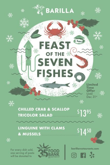Feast of the Seven Fishes Special @ Casa Barilla - Costa Mesa | Costa Mesa | California | United States