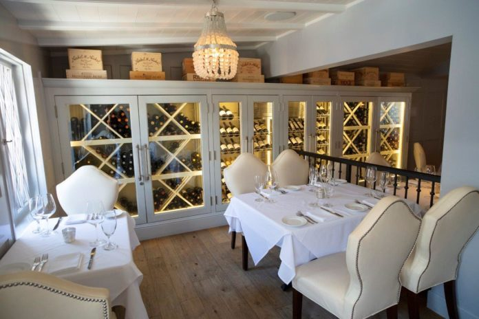 SelanneSteakTavern WineCabinet