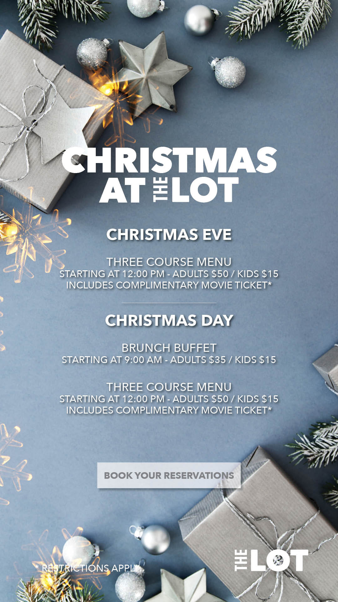 Christmas Eve and Christmas Day Celebrations @ Lot (The) at Fashion Island - Newport Beach