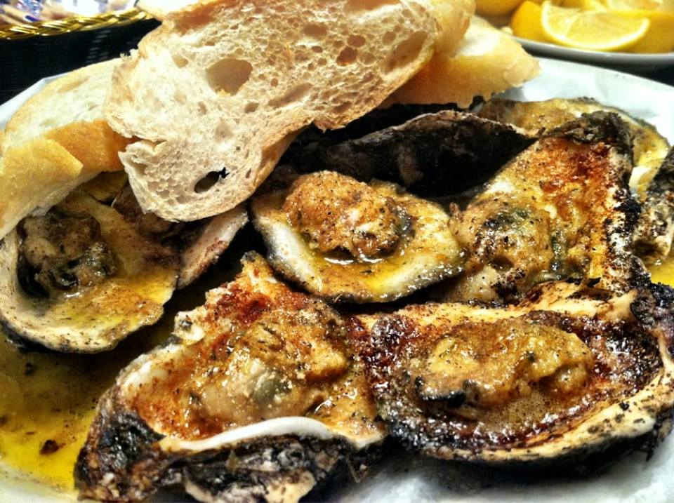 Crazy Creole Grilled Oysters