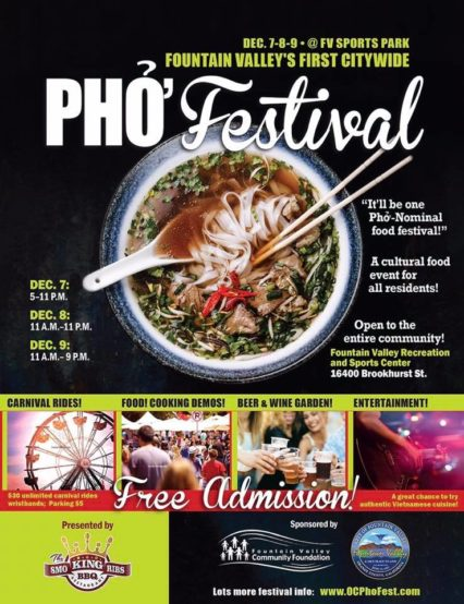 Pho Festival @ pin Playground - Mile Square Park  | Fountain Valley | California | United States