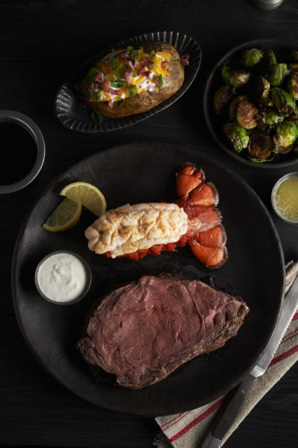 Prime Rib and Lobster Combo Christmas Eve @ Black Angus Steakhouse - Fountain Valley | Fountain Valley | California | United States