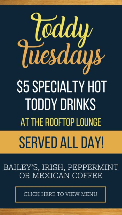 Toddy Tuesdays @ Rooftop Lounge (The) - Laguna Beach