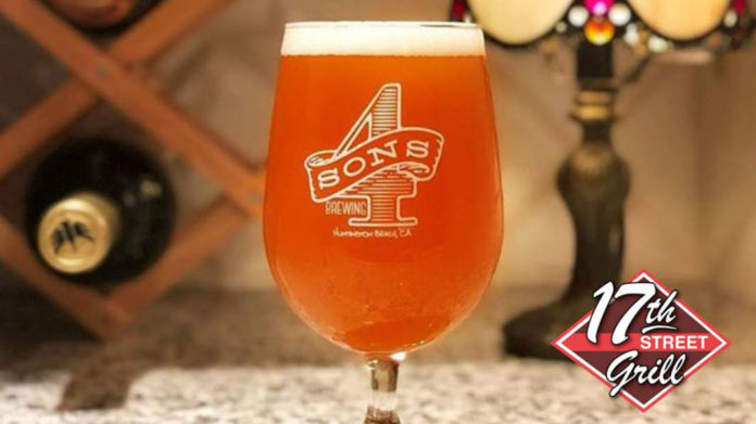 4 Sons Brewing Dinner At 17th Street Bar And Grill