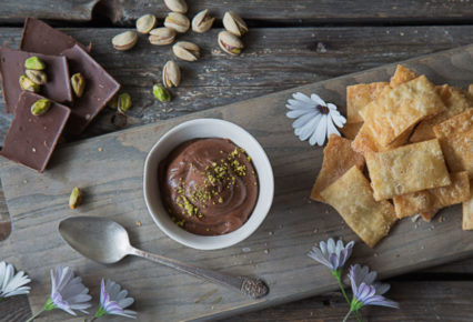Chocolate Hummus and Cinnamon Chips for Valentine's Day @ SAJJ Mediterranean - Irvine | Irvine | California | United States
