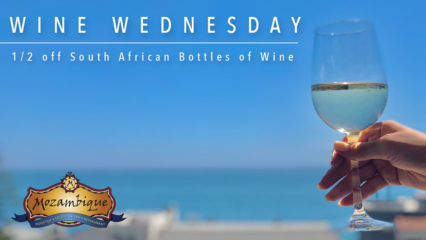 South African Wine Wednesday @ Mozambique - Laguna Beach | Laguna Beach | California | United States