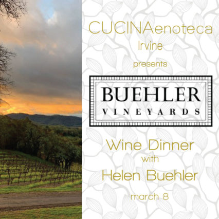 Four-Course Wine Dinner @ Cucina Enoteca - Irvine