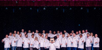 2019 Group Chef Photo With Mickey Mouse Sm