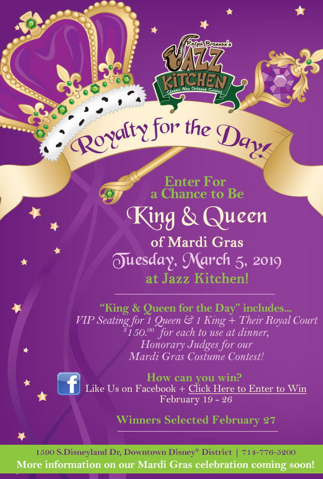 Jazz Kitchen King And Queen Contest