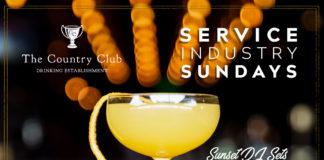 Country Club The Industry Sunday