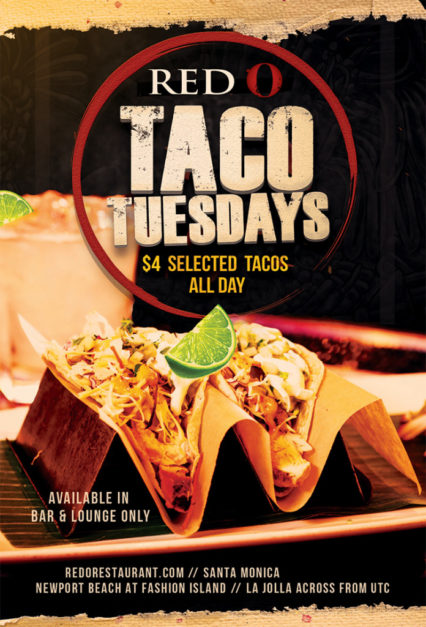 Taco Tuesday @ Red O Restaurant - Newport Beach | Newport Beach | California | United States