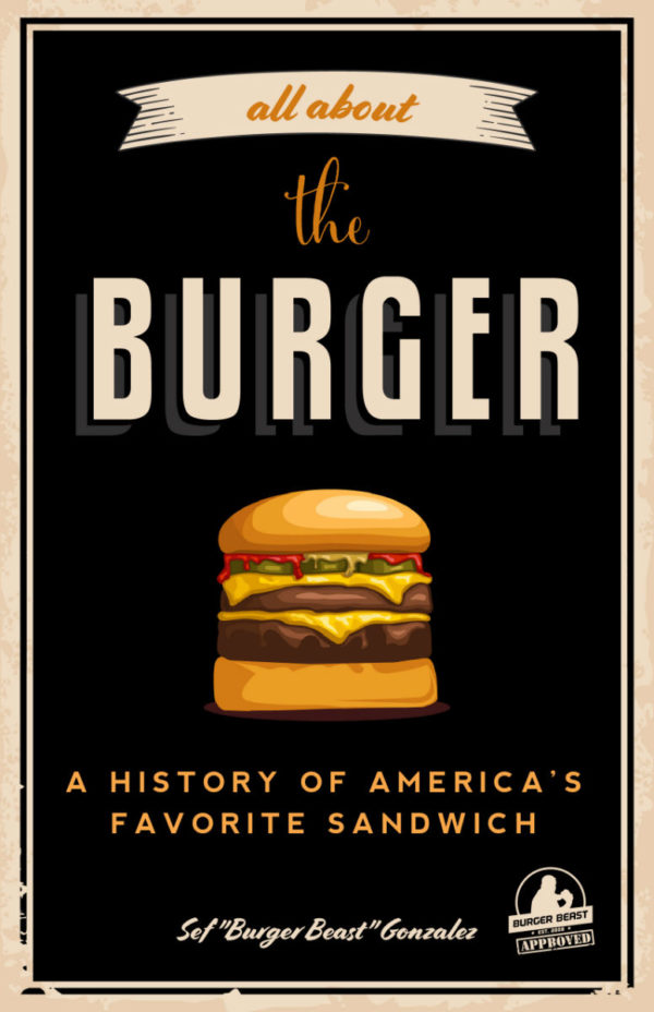 All About The Burger Cover