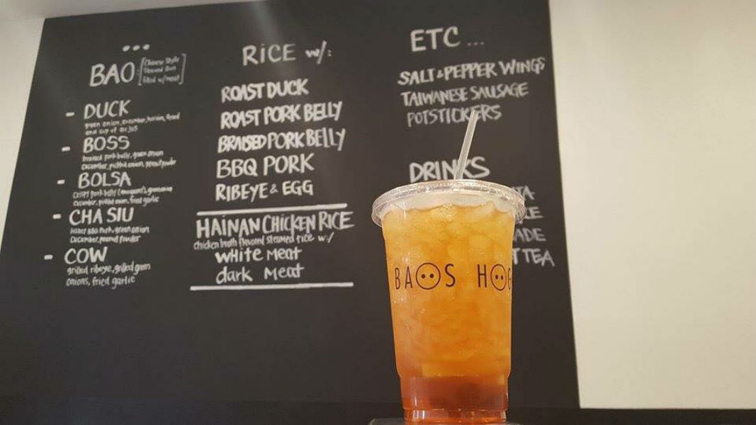 Baos Hog Lemon Ice Tea