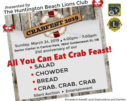 CrabFest 2019 @ Huntington Beach Senior Center | Huntington Beach | California | United States