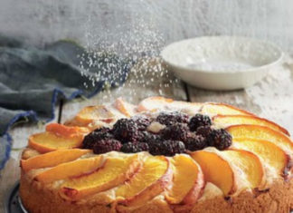 Chef Belinda Smith Sullivan Blackberry Peach Buckle