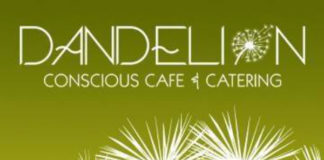 Dandelion Conscious Cafe & Catering Logo